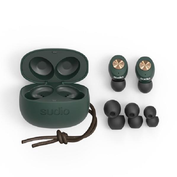 Sudio 完全ワイヤレスイヤフォン TOLV Green SD-0045 [SD0045]【ARPP】【JNSP】