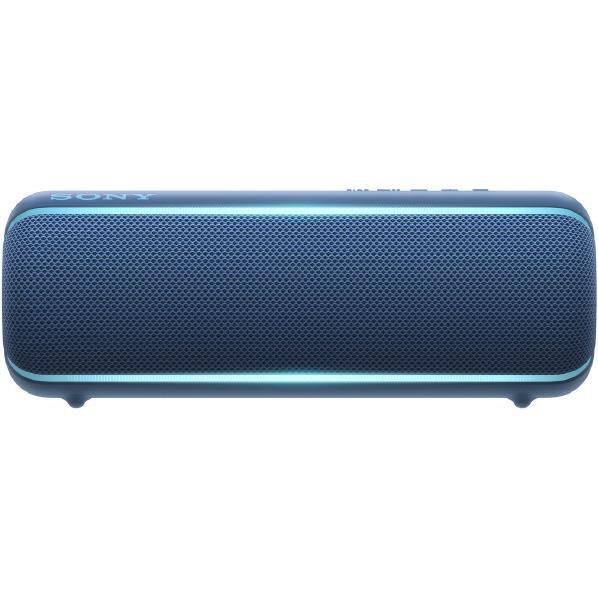 SONY ワイヤレスポータブルスピーカー EXTRA BASS ブルー SRS-XB22 L [SRSXB22L]【RNH】