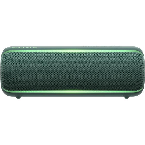 SONY ワイヤレスポータブルスピーカー EXTRA BASS グリーン SRS-XB22 G [SRSXB22G]【RNH】