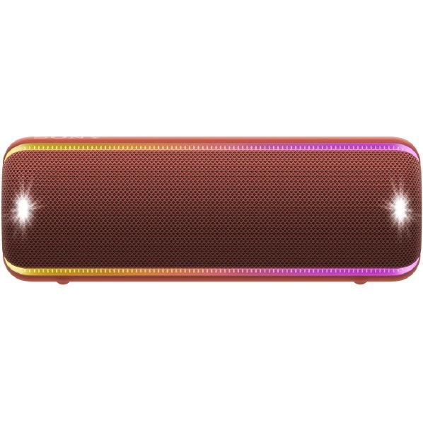 SONY ワイヤレスポータブルスピーカー EXTRA BASS レッド SRS-XB32 R [SRSXB32R]【RNH】