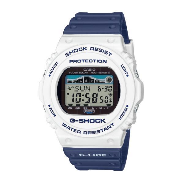 カシオ ソーラー電波腕時計 G-SHOCK G-LIDE GWX-5700SS-7JF [GWX5700SS7JF]