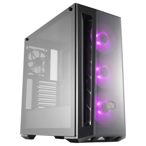 クーラーマスター ミドルタワー型PCケース ブラック MCB-B520-KGNN-RGB [MCBB520KGNNRGB]