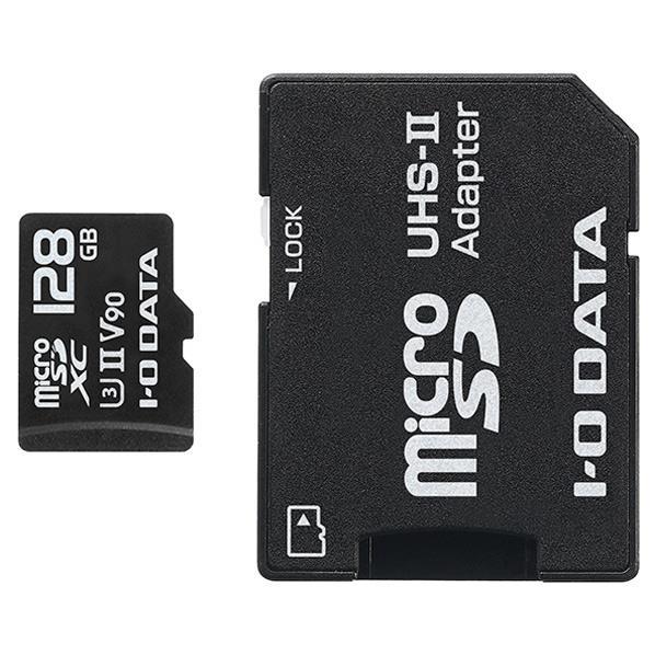 I・Oデータ UHS-II UHS スピードクラス3対応 microSDメモリーカード 128GB MSDU23-128G [MSDU23128G]