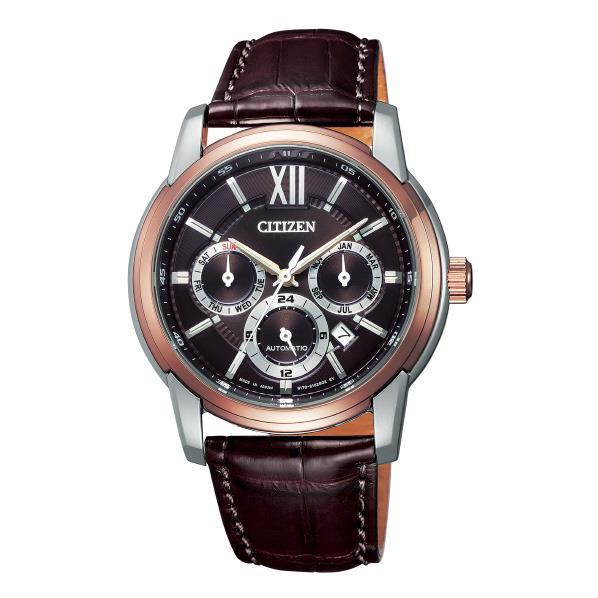 シチズン 腕時計 シチズンコレクション 茶色 NB2004-18W [NB200418W]
