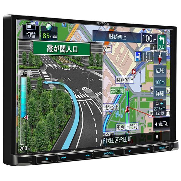 JVCケンウッド 8インチ DVD/USB/SD/BT AVナビゲーションシステム 彩速ナビSシリーズ MDV-S706L [MDVS706L]【RNH】