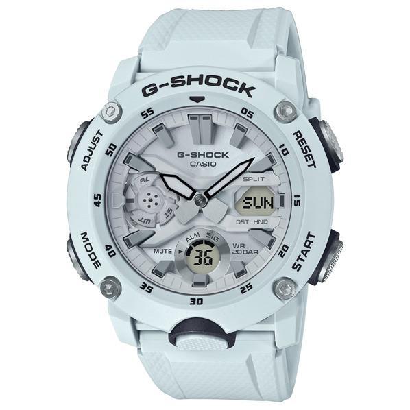 カシオ 腕時計 G-SHOCK ホワイト GA-2000S-7AJF [GA2000S7AJF]