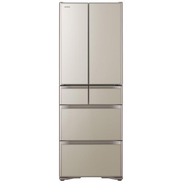 日立 430L 6ドアノンフロン冷蔵庫 プレーンシャンパン R-XG43KXN [RXG43KXN]【RNH】