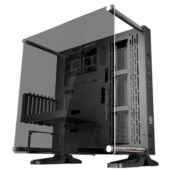新作販売 2020 5mm厚の強化ガラスパネルを採用 多彩な構成に対応しドレスアップパーツの組み込みを楽しめるオープンフレーム型PCケース Thermaltake オープンフレーム型PCケース Core CA1G400M1WN06 TG P3 CA-1G4-00M1WN-06 ブラック
