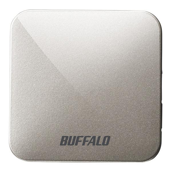あんしん延長保証対象 出張先 旅先のホテルのLANを高速Wi-Fiに 便利なLANケーブル 携行ポーチ付き BUFFALO アッシュシルバー WMR-433W2-AS おすすめ WMR433W2AS 無線LANルーター 新作からSALEアイテム等お得な商品満載 RNH