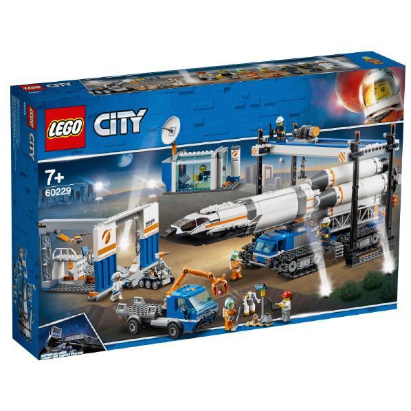 レゴジャパン LEGO シティ 60229 巨大ロケットの組み立て工場 60229キヨダイロケツトノクミタテコウジヨウ [60229キヨダイロケツトノクミタテコウジヨウ]