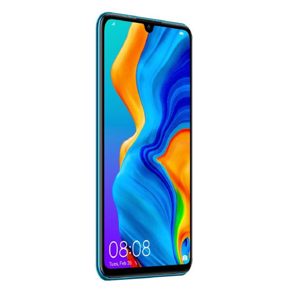 HUAWEI SIMフリースマートフォン P30 lite ピーコックブルー P30 LITE/BLUE [P30LITEBLUE]