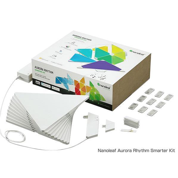 nanoleaf Nanoleaf Aurora Rhythm Smarter Kit(Rhythm付スマーターセット) NL28-2006TW-9PK-J [NL282006TW9PKJ]
