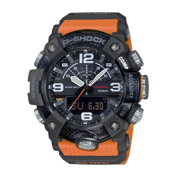 カシオ 腕時計 G-SHOCK MUDMASTER オレンジ GG-B100-1A9JF [GGB1001A9JF]