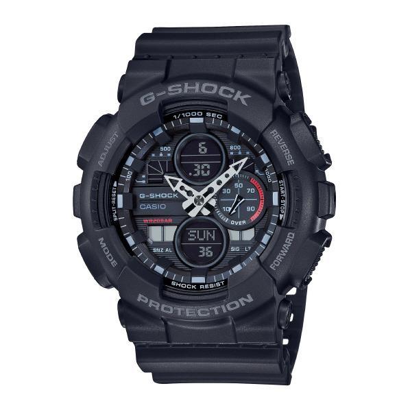 カシオ 腕時計 G-SHOCK ブラック GA-140-1A1JF [GA1401A1JF]【MSSP】
