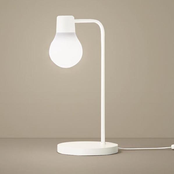 パナソニック 卓上型 LED(温白色) スタンド 拡散タイプ・中間スイッチ付 白熱電球60形1灯器具相当 SC439W [SC439W]
