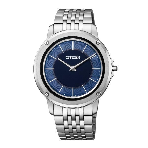 シチズン 腕時計 エコ・ドライブ ワン メタルバンドモデル 青 AR5050-51L [AR505051L]