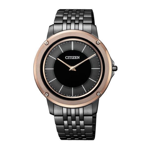 シチズン 腕時計 エコ・ドライブ ワン メタルバンドモデル 黒 AR5054-51E [AR505451E]