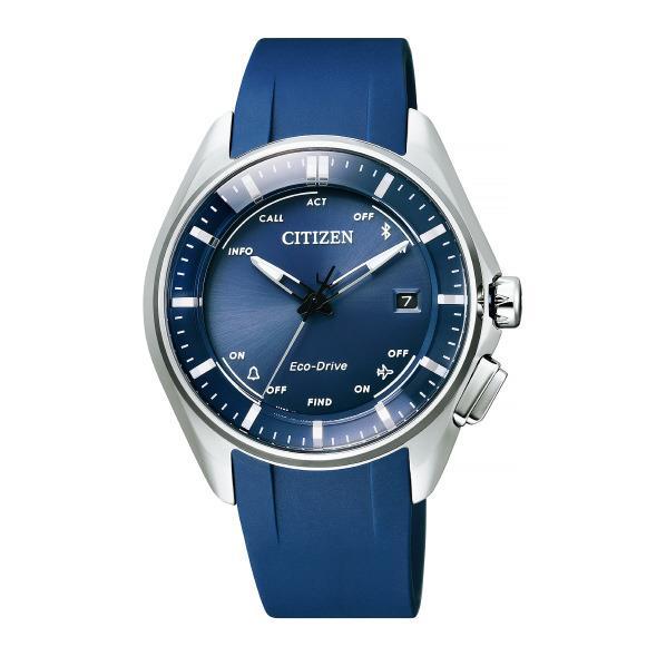 シチズン 腕時計 エコ・ドライブ Bluetooth 大坂なおみグランドスラム試合着用モデル 青 BZ4000-07L [BZ400007L]