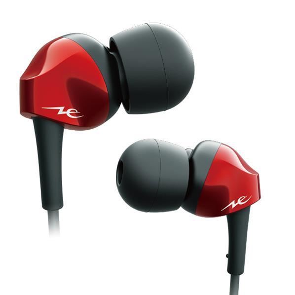 ラディウス 高音質Bluetoothイヤホン Pure Standard Wireless Series 「EXTRA Clear」 レッド HP-N200BTR [HPN200BTR]