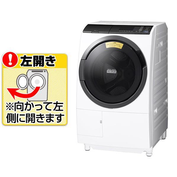 日立 【左開き】10.0kgドラム式洗濯乾燥機 ビッグドラム ホワイト BD-SG100EL W [BDSG100ELW]【RNH】