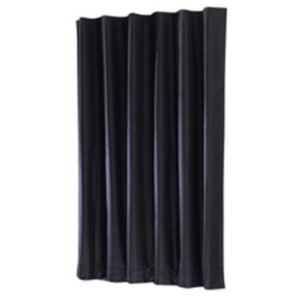 軽くかさばらないナイロンタフタ黒生地に遮光用ゴム引きの高級品です。 キング ダークカーテン DL(2×4m) ダ-クカ-テン D/L 2MX4M [ダ-クカ-テンDL2MX4M]
