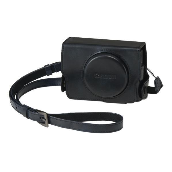 キヤノン PowerShot G7 X Mark III専用ソフトケース ブラック CSCG12BK [CSCG12BK]【JNSP】