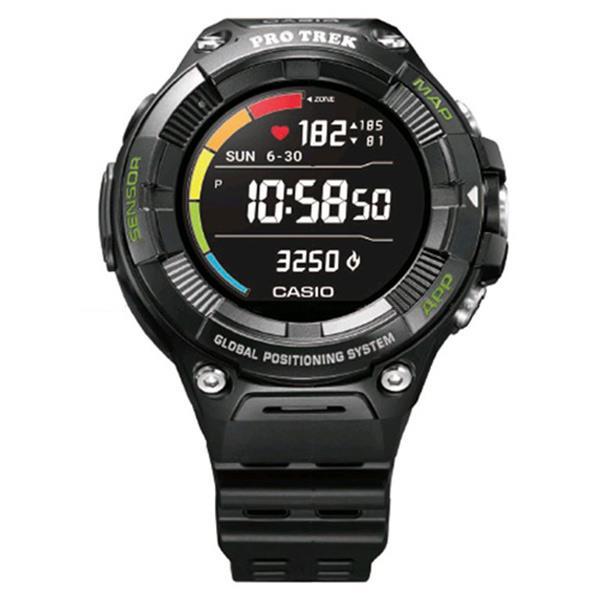 カシオ 腕時計 PRO TREK Smart ブラック WSD-F21HR-BK [WSDF21HRBK]