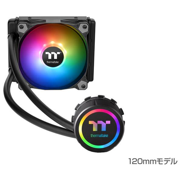 Thermaltake CPUクーラー Water 3.0 120 ARGB Sync CL-W232-PL12SW-A [CLW232PL12SWA]【JMPT】
