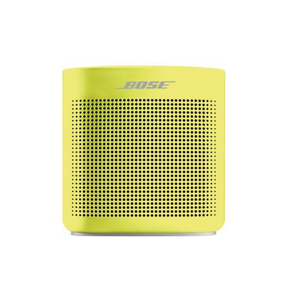 BOSE ワイヤレススピーカー SoundLink Color Bluetooth speaker II Yellow Citron SOUNDLINK COLOR II YLW [SOUNDLINKCOLOR2YLW]【RNH】【MVSP】