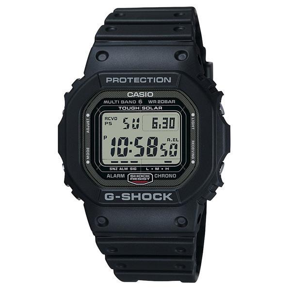 カシオ ソーラー電波腕時計 G-SHOCK ブラック GW-5000-1JF [GW50001JF]