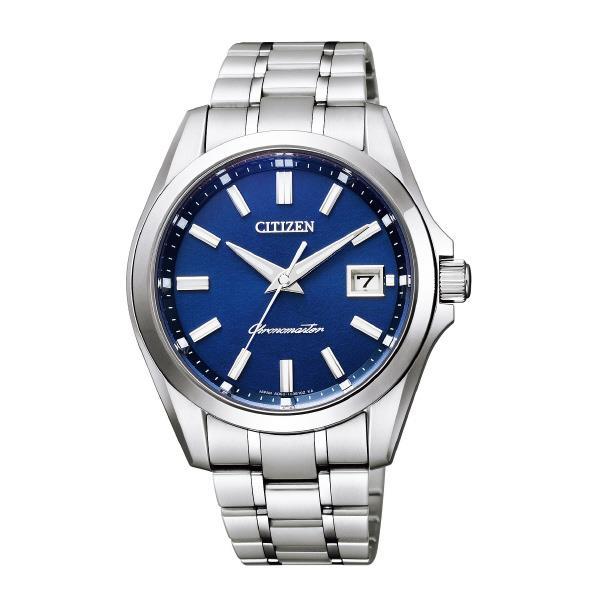 シチズン 腕時計 ザ・シチズン 高精度エコ・ドライブ 和紙文字板 青 AQ4030-51L [AQ403051L]