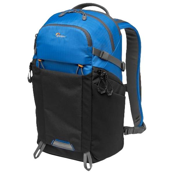 新作送料無料 日帰りの登山やハイキングなどで使えるアウトドア向けのカメラバック LOWEPRO 完全送料無料 フォトアクティブ ブルー DKPP LP37259PWW ブラック LP37259-PWW