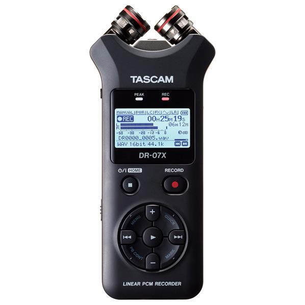 TASCAM ステレオオーディオレコーダー/USBオーディオインターフェース DR-07X [DR07X]【JNSP】