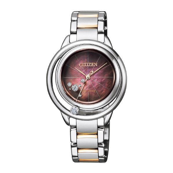 シチズン 腕時計 シチズンエル エコ・ドライブ Arcly Collection 無花果レッド EW5529-55W [EW552955W]