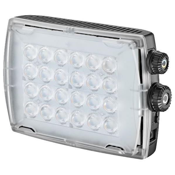 見たままを定常光で撮影できる、高い色再現性CRI 93以上。 Manfrotto 色温度可変LEDライト 900lux MLCROMA2 [MLCROMA2]
