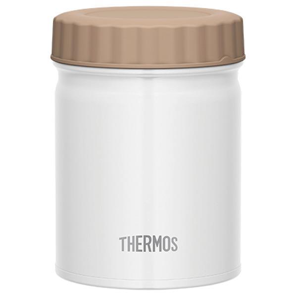 熱いものから冷たいものまで、いろいろ持ち運べるスープジャー。ボリューム感たっぷりのビッグサイズです。 サーモス 真空断熱スープジャー(0.5L) ホワイト JBT-500WH [JBT500WH]