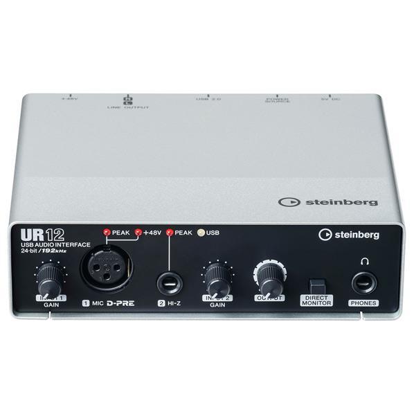 流行に  ヤマハ スタインバーグ USBオーディオインターフェース UR12 [UR12]【SPPS】, Accessoires Favori 802b2884