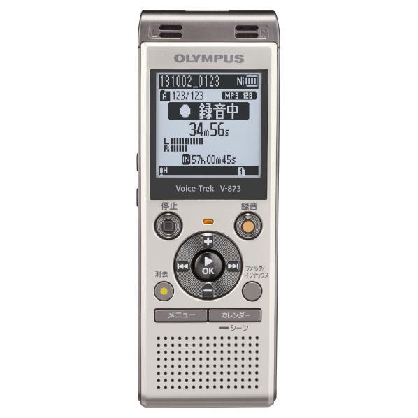あんしん延長保証対象 高機能簡単ICレコーダー オリンパス 8GB内蔵メモリ搭載 ビジネス 学習向けICレコーダー Voice 格安SALEスタート 公式ショップ V-873 ゴールド V873GLD RNH Trek GLD