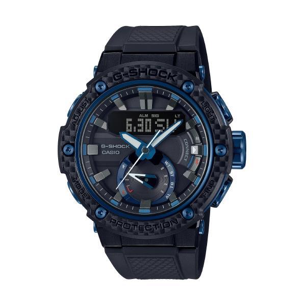 カシオ ソーラー電波腕時計 G-SHOCK G-STEEL ブラック GST-B200X-1A2JF [GSTB200X1A2JF]