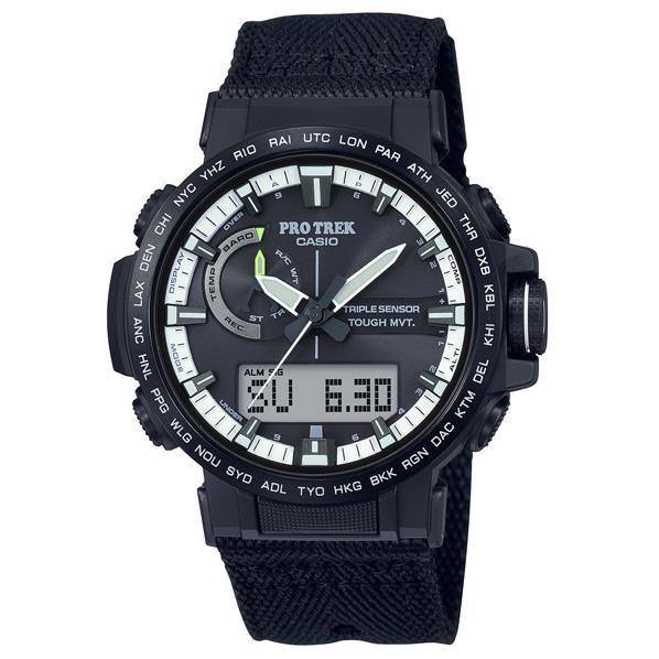 カシオ ソーラー電波腕時計 PRO TREK ブラック PRW-60YBM-1AJF [PRW60YBM1AJF]