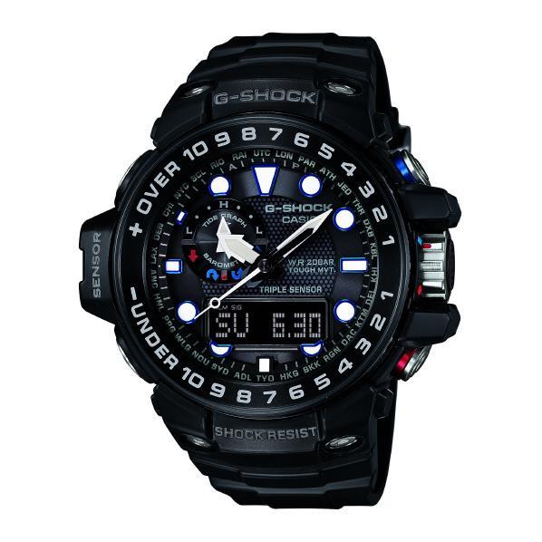 カシオ ソーラー電波腕時計 G-SHOCK ブラック GWN-1000B-1AJF [GWN1000B1AJF]