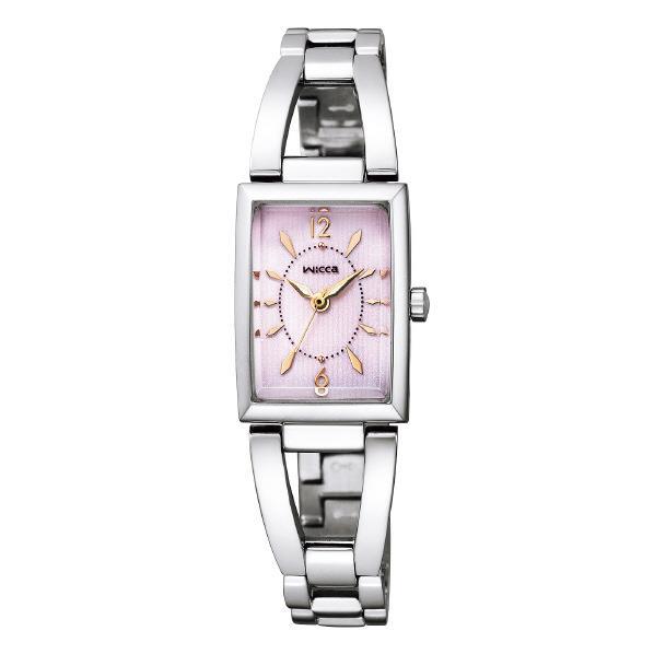 シチズン ソーラーテック腕時計 ウィッカ ピンク KF7-511-91 [KF751191]