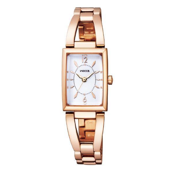シチズン ソーラーテック腕時計 ウィッカ 白 KF7-562-11 [KF756211]【MSSP】