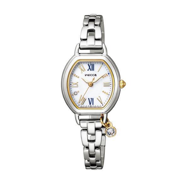シチズン ソーラーテック腕時計 ウィッカ 白 KP2-515-13 [KP251513]