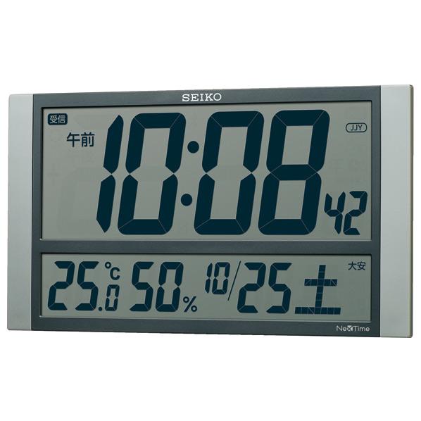 SEIKO 電波置き掛け兼用時計 ZS450S [ZS450S]