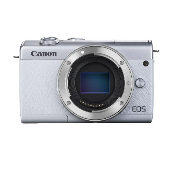 キヤノン デジタル一眼カメラ・ボディ EOS M200 ホワイト EOSM200WHBODY [EOSM200WHBODY]【RNH】