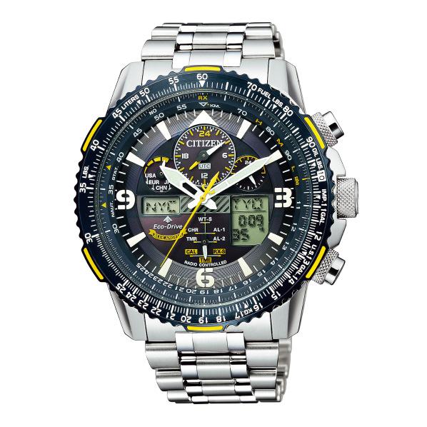 シチズン ソーラー電波腕時計 プロマスター SKY ブルーエンジェルスモデル ダークブルー JY8078-52L [JY807852L]