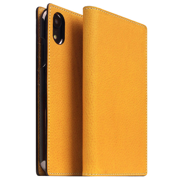 SLG Design iPhone XR用ケース Minerva Box Leather Case タン SD13680I61 [SD13680I61]