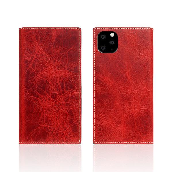 SLG Design iPhone 11 Pro用ケース Badalassi Wax case レッド SD17862I58R [SD17862I58R]