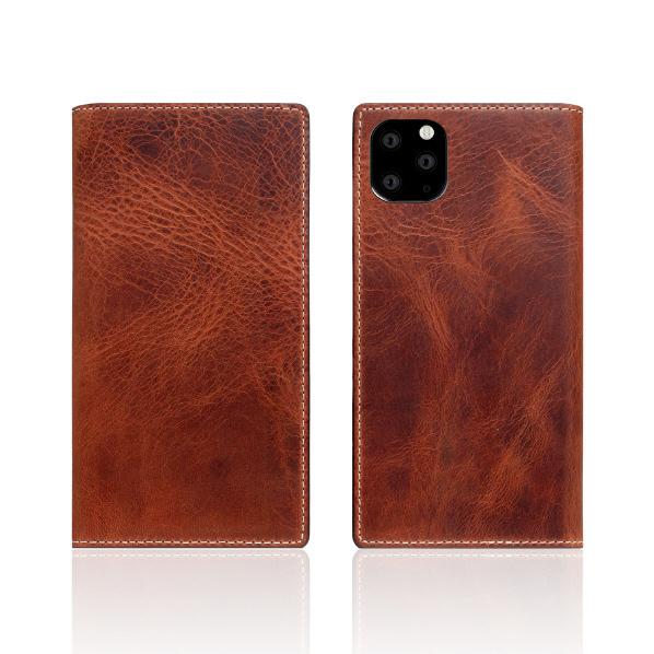 SLG Design iPhone 11 Pro用ケース Badalassi Wax case ブラウン SD17863I58R [SD17863I58R]